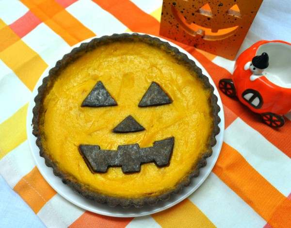 ハロウィンレシピ② かぼちゃのタルト