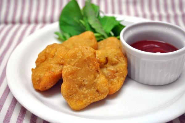 おもてなしレシピ:チクピー豆のVegiフリッター