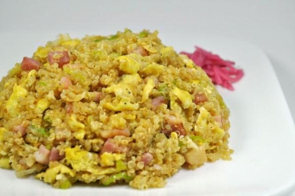 キンワを使ったレシピ:キンワチャーハン