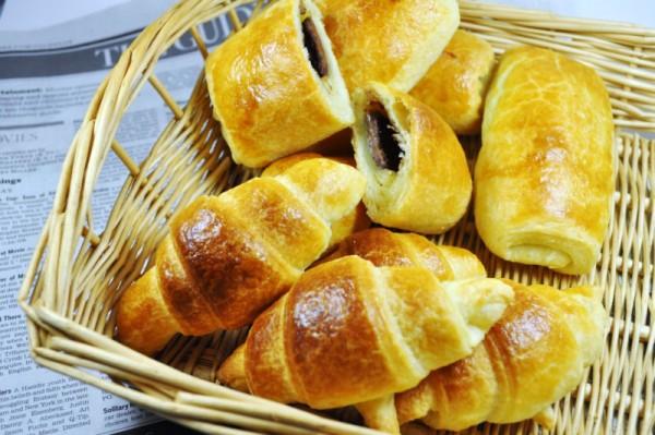 南部小麦粉で作るパンのレシピ:クロワッサンとチョコクロワッサン