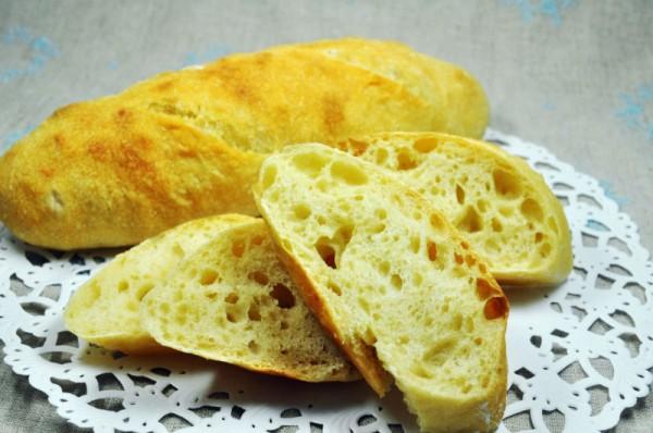 南部小麦粉で作るパンのレシピ:ミニフランスパン
