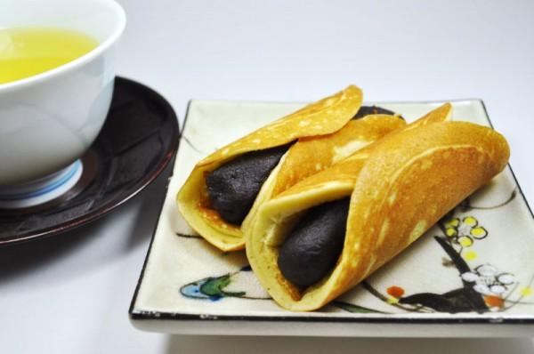 片栗粉でつくるお菓子:あん巻き