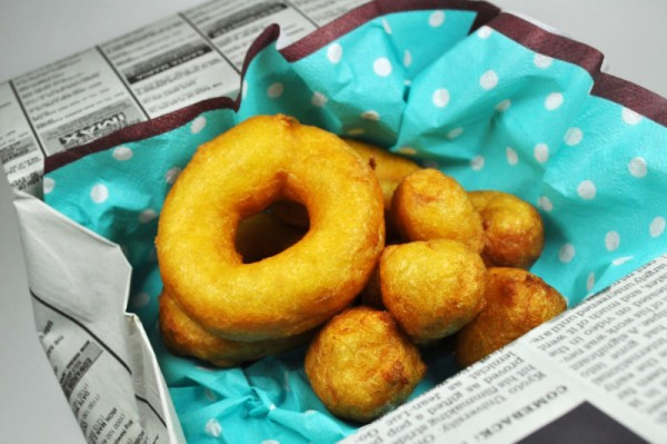 片栗粉で作るお菓子:もちもちドーナッツ