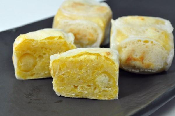 米粉で作る和菓子:チクピー豆のきんつば