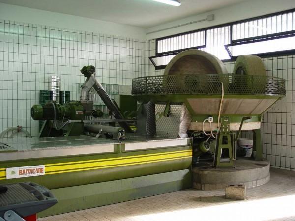 オリーブオイル 石圧搾機