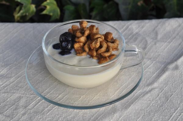 豆乳ヨーグルト シリアル 写真8.1